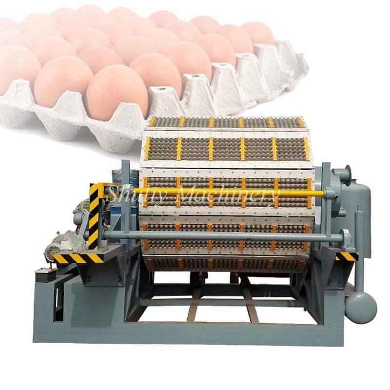 8 side egg tray machine