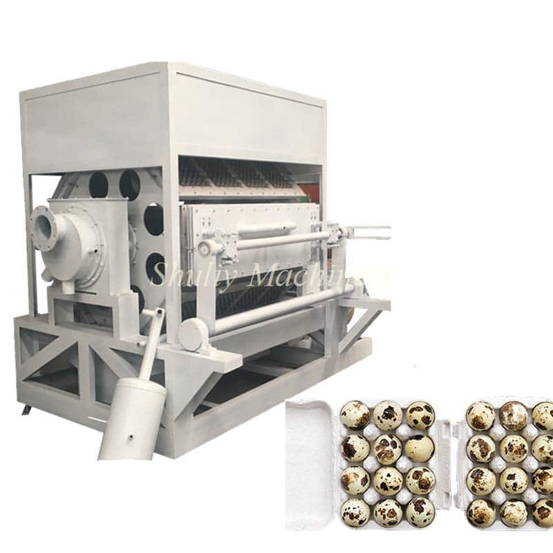 8 side egg tray machine