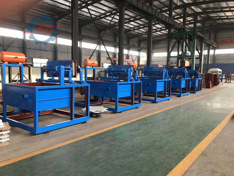 Customer from Sudan for egg tray machine from Shuliy Machinery