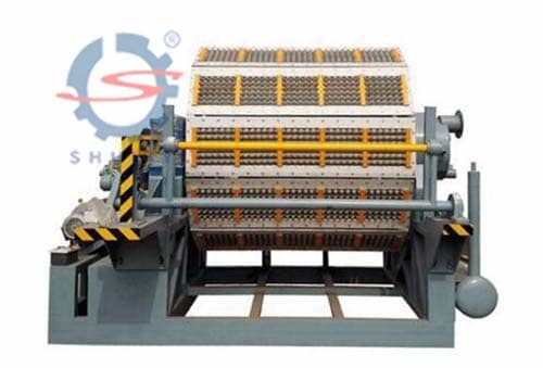 12 Egg Tray Machine
