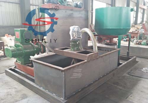 Customer of the egg tray making machine from Nigeria