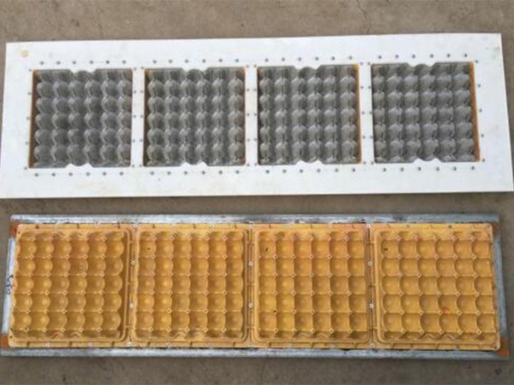 4 egg tray molds